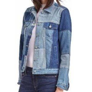 Gap Women Iconic Patchwork Denim jacket